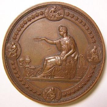 1876 Centennial Exposition Award Medal