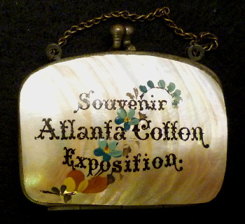 1881 Atlanta Cotton Exposition Souvenir Purse