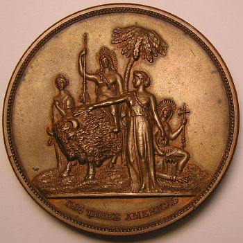 New Orleands 1885-86 Award Medal