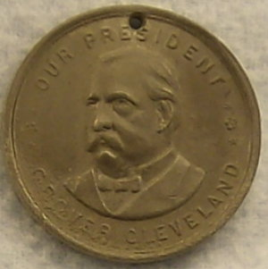Our President Grove Cleveland Medal