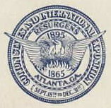 1895 Atlanta Cotton States Exposition Seal
