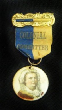 1895 Colonial Committee Badge