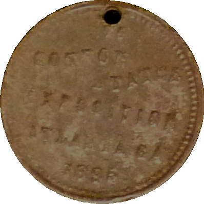 1895 liberty bell medal atlanta expo