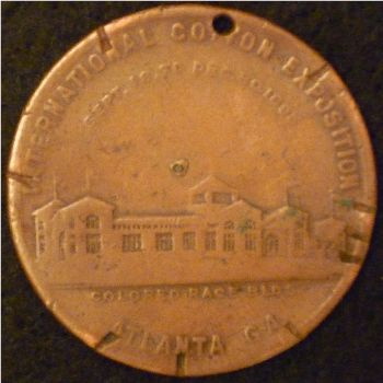 Colored Race Bldg medal