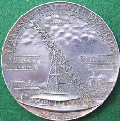 Tennessee Expo Medal with Giant See-Saw
