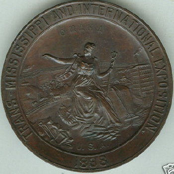 1897 Expo Award Medal