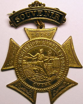 1898 expo badge