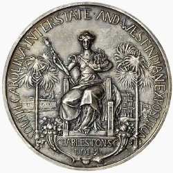1901-1902 Charleston Silver Award Medal