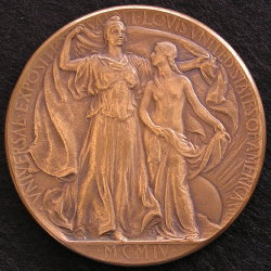 1904 Bronze Medal Award