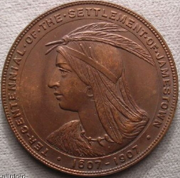 1907 Bronze Expo Medal