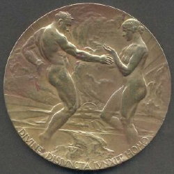 1915 San Francisco Pan-Pac Medals