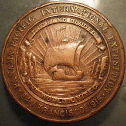 1915 Tennesse Expo Fund Medal