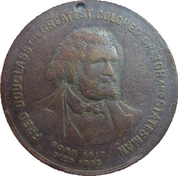 Fred Douglass bronze medal