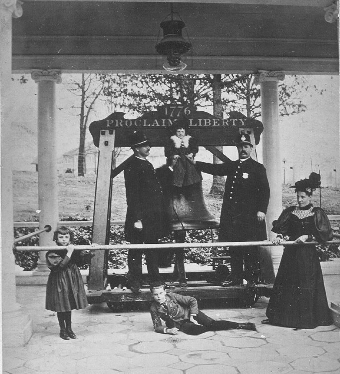 Liberty Bell in Atlanta GA at 1895 Cotton States Exposition