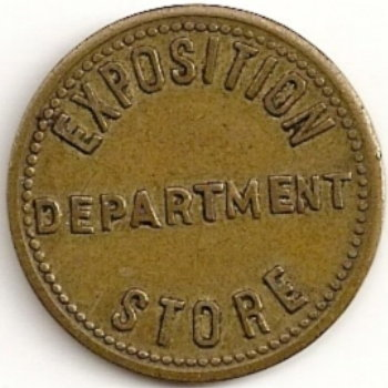 Exposition Department Store Medal 1895