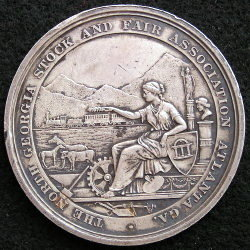 The North Georgia Stock and Fair Association Medal